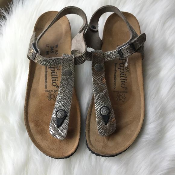 e932ab87781 Birkenstock Shoes - Papillio by Birkenstock  Ashley  T-Strap Wedge
